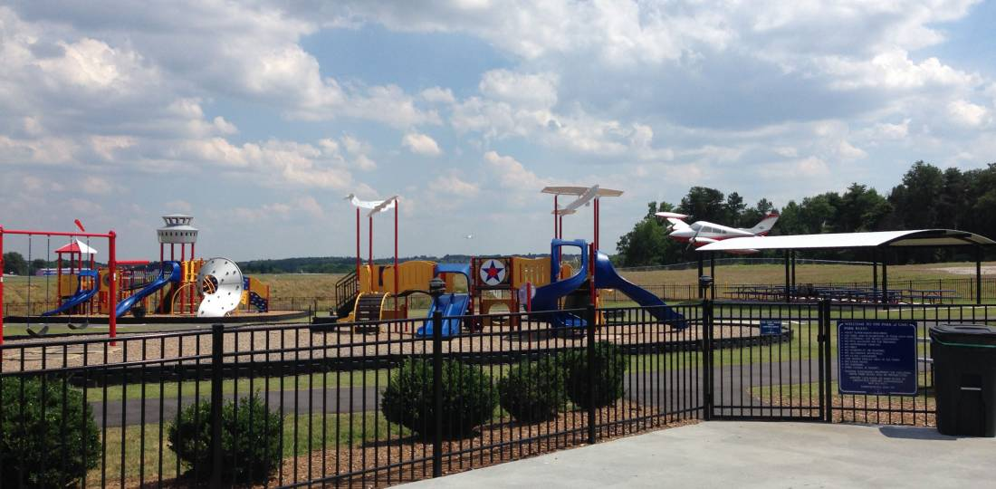 Greenville Downtown Airport Park