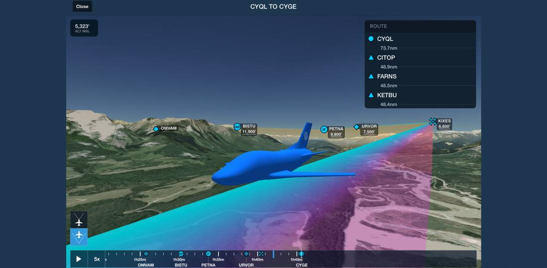 ForeFlight's Trip Assistant