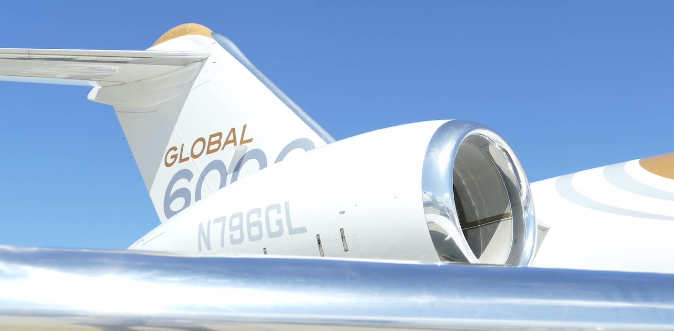Bombardier Global 6000 and BR710 Nacelle