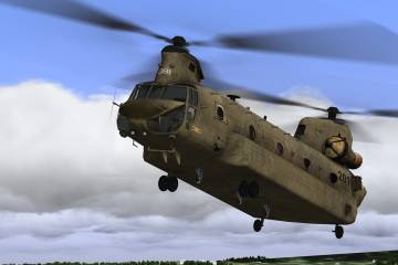 Chinook simulator