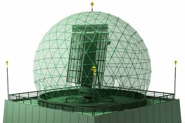 LIG Nex1 long-range radar