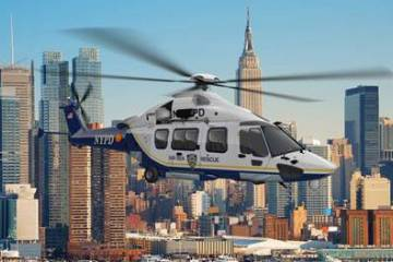 Airbus rendering of H175 in NYPD livery