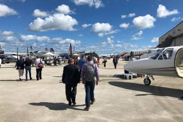 Preowned business jet inventory at histroic lows