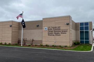 new CBP facility at Chicago Executive Airport