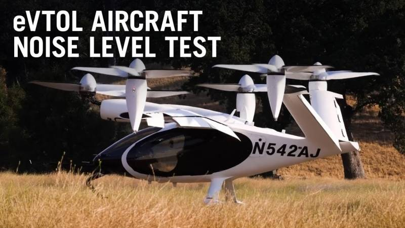 Electric Aircraft Must Be Quieter Than Current Aircraft To Be Accepted in Cities