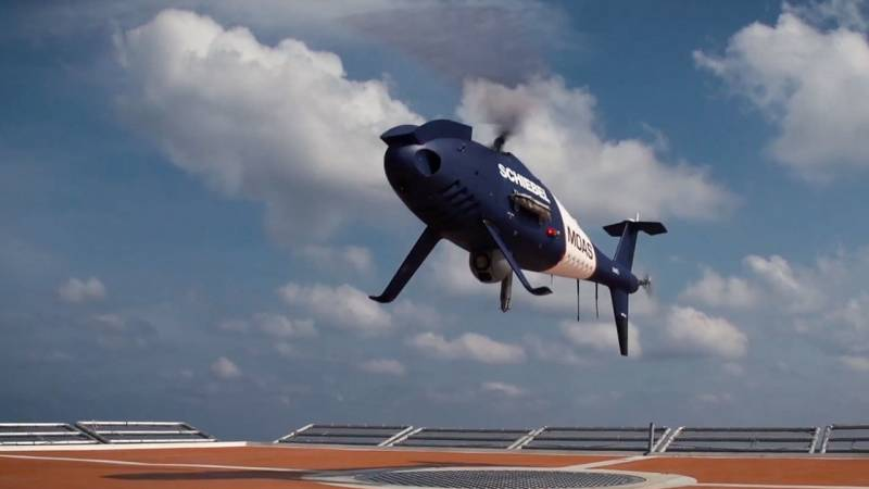 Schiebel's S-100 Camcopter is a Multi-Role Helicopter UAV Platform