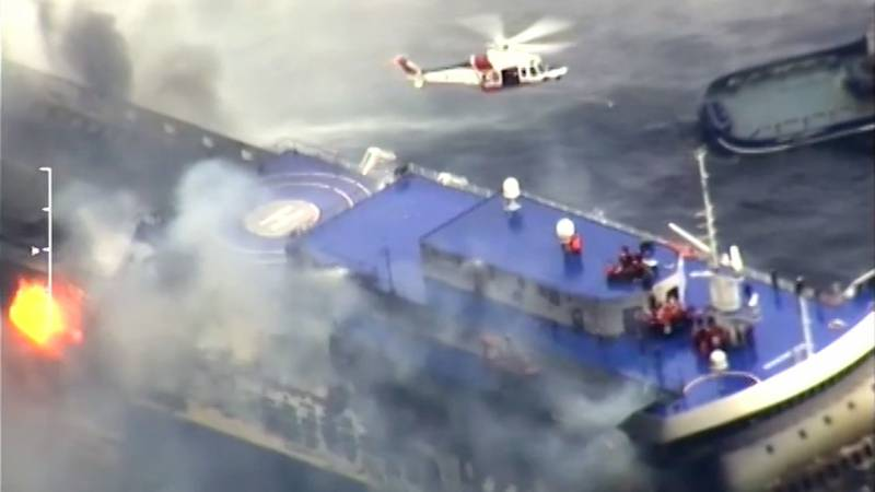 Italian Pilots Reveal How Lives Were Saved in Mediterranean Ferry Rescue