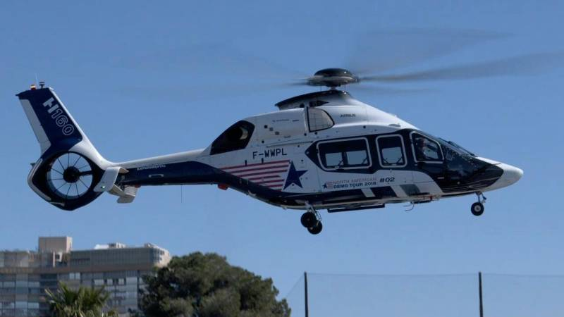 Airbus Helicopters H160 Arrives in Las Vegas for Heli-Expo 2018