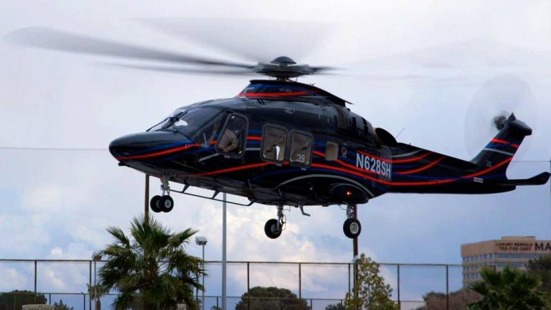 Leonardo Helicopters AW169 Arrives in Las Vegas for Heli-Expo 2018