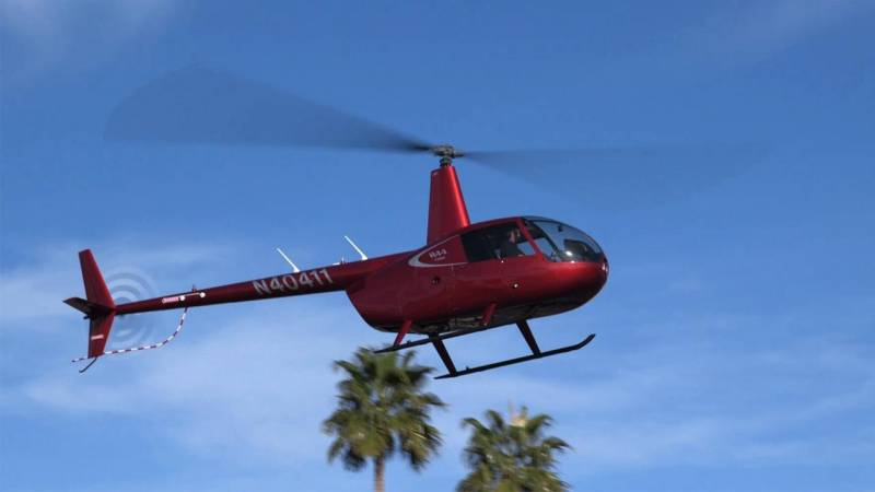 Robinson R44 Cadet Lands in Las Vegas for Heli-Expo 2018