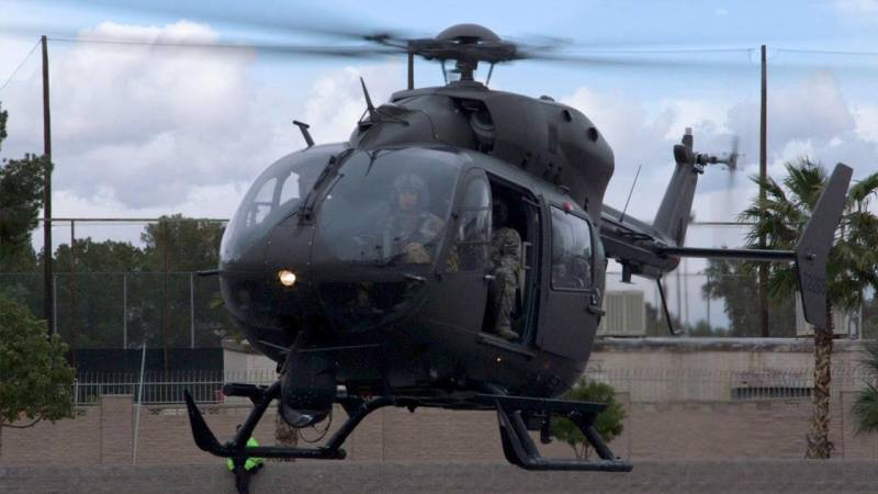 Airbus Helicopters UH-72 Lakota Arrives in Las Vegas for Heli-Expo 2018