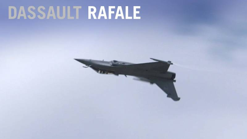 Dassault Rafale Fighter Flying Display at Paris Air Show 2019