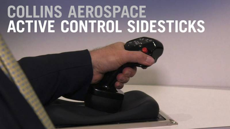How Collins Active Control Sidesticks Work - AIN