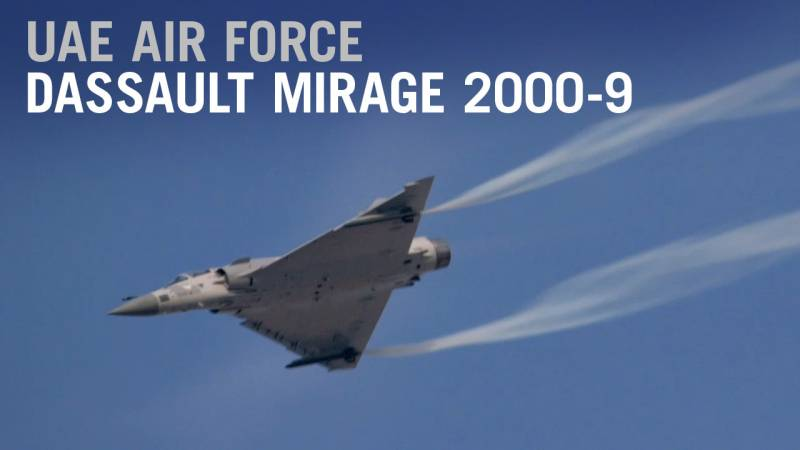 The UAE Plans to Upgrade its Dassault Mirage 2000-9 for the Future - AIN