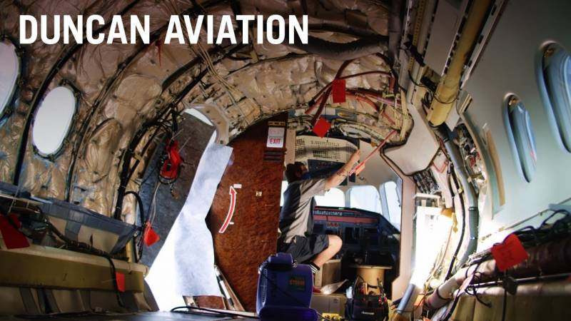 Falcon 7X C-Check | Experience and Capabilities Matter at Duncan Aviation