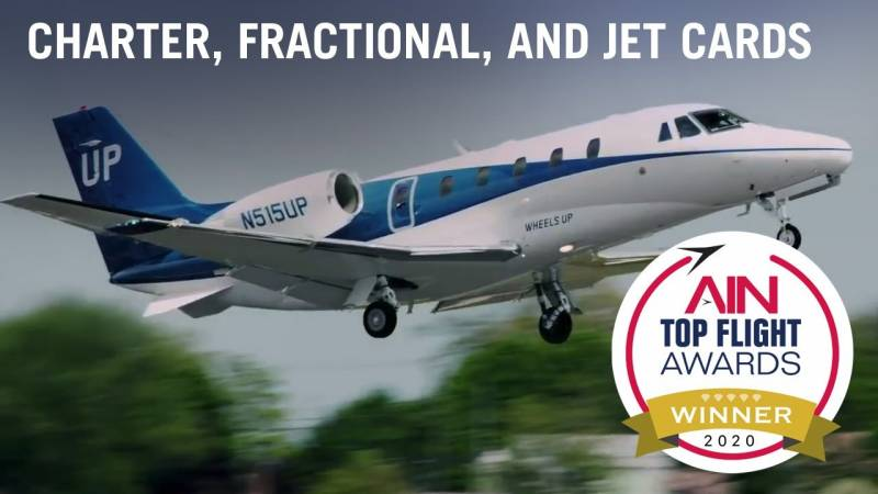 Announcing the Top Flight Awards Charter, Fractional, and Jet Cards Category Winner
